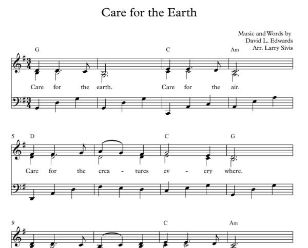 Care for the Earth (Sheet Music: Piano Version)