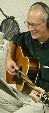 David L. Edwards in the Studio